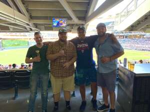 Scout attended Minnesota Twins vs. Houston Astros - MLB on Jun 12th 2021 via VetTix