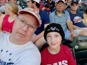 Jonathan attended Minnesota Twins vs. Houston Astros - MLB on Jun 12th 2021 via VetTix