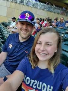 Tony attended Minnesota Twins vs. Houston Astros - MLB on Jun 12th 2021 via VetTix
