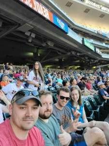 TwinsFans attended Minnesota Twins vs. Houston Astros - MLB on Jun 12th 2021 via VetTix
