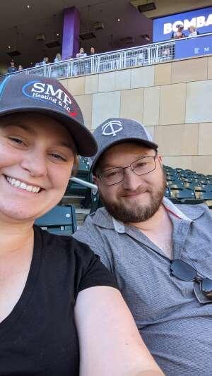 Katlyn attended Minnesota Twins vs. Houston Astros - MLB on Jun 12th 2021 via VetTix