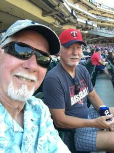 U attended Minnesota Twins vs. Houston Astros - MLB on Jun 13th 2021 via VetTix