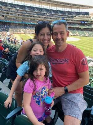 Mike attended Minnesota Twins vs. Houston Astros - MLB on Jun 13th 2021 via VetTix