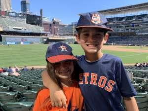 John attended Minnesota Twins vs. Houston Astros - MLB on Jun 13th 2021 via VetTix