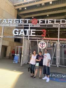 Ri attended Minnesota Twins vs. Houston Astros - MLB on Jun 13th 2021 via VetTix