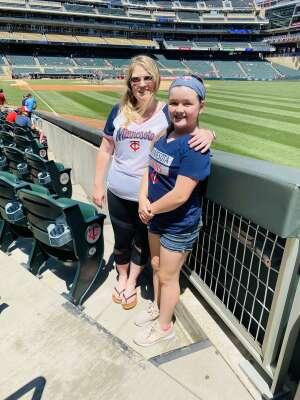 Cydnee attended Minnesota Twins vs. Houston Astros - MLB on Jun 13th 2021 via VetTix