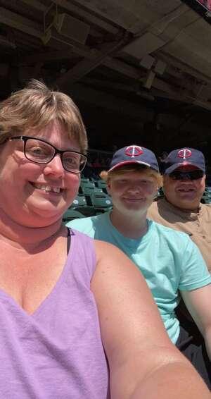 Paul Thompson  attended Minnesota Twins vs. Houston Astros - MLB on Jun 13th 2021 via VetTix