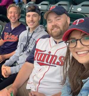 Nick Erikson attended Minnesota Twins vs. Houston Astros - MLB on Jun 13th 2021 via VetTix