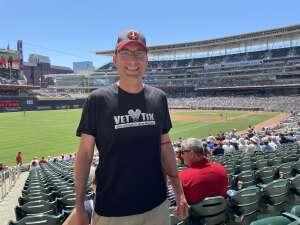 Chad M. attended Minnesota Twins vs. Houston Astros - MLB on Jun 13th 2021 via VetTix