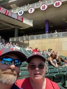 Blaine attended Minnesota Twins vs. Houston Astros - MLB on Jun 13th 2021 via VetTix