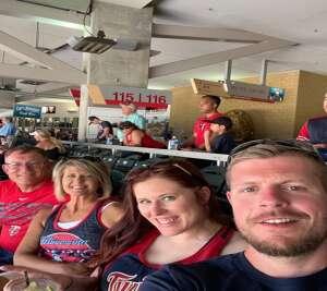 Mike Reindl  attended Minnesota Twins vs. Houston Astros - MLB on Jun 13th 2021 via VetTix