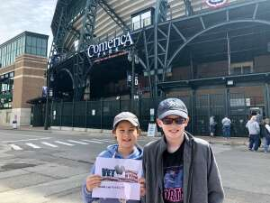 Philip Bingham attended Detroit Tigers vs. Cleveland Indians - MLB on May 25th 2021 via VetTix