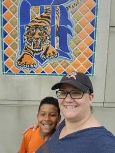 Natasha M. attended Detroit Tigers vs. Cleveland Indians - MLB on May 25th 2021 via VetTix