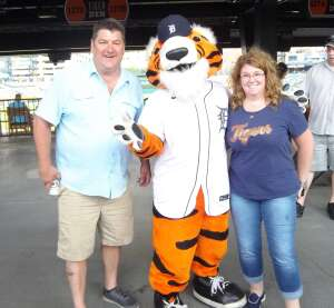Great time THANK YOU!!!! attended Detroit Tigers vs. Cleveland Indians - MLB on May 25th 2021 via VetTix