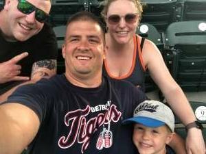 Matt attended Detroit Tigers vs. Cleveland Indians - MLB on May 25th 2021 via VetTix