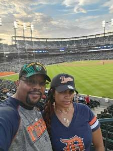 Stanley Smith attended Detroit Tigers vs. Cleveland Indians - MLB on May 25th 2021 via VetTix