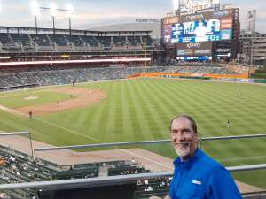 Christopher attended Detroit Tigers vs. Cleveland Indians - MLB on May 25th 2021 via VetTix