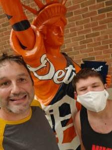 David  attended Detroit Tigers vs. Cleveland Indians - MLB on May 25th 2021 via VetTix