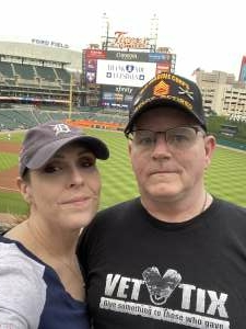 Gunny attended Detroit Tigers vs. Cleveland Indians - MLB on May 25th 2021 via VetTix