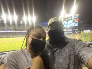 R. P.  attended Detroit Tigers vs. Cleveland Indians - MLB on May 25th 2021 via VetTix
