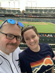 Mike attended Detroit Tigers vs. Cleveland Indians - MLB on May 25th 2021 via VetTix