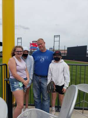 Nathan  attended Chicago Dogs vs. Winnepeg Goldeyes - Military Appreciation/memorial Day on May 31st 2021 via VetTix