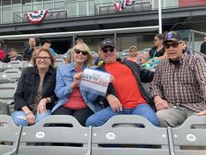 Click To Read More Feedback from Chicago Dogs vs. Winnepeg Goldeyes - Military Appreciation/memorial Day