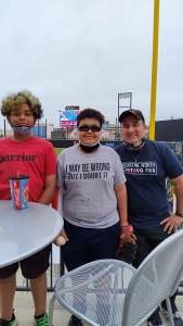 Dave attended Chicago Dogs vs. Winnepeg Goldeyes - Military Appreciation/memorial Day on May 31st 2021 via VetTix