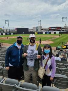James Wong attended Chicago Dogs vs. Winnepeg Goldeyes - Military Appreciation/memorial Day on May 31st 2021 via VetTix