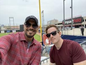 Frank  attended Chicago Dogs vs. Winnepeg Goldeyes - Military Appreciation/memorial Day on May 31st 2021 via VetTix