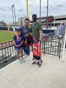SSG Andrew McCannon attended Chicago Dogs vs. Winnepeg Goldeyes - Military Appreciation/memorial Day on May 31st 2021 via VetTix