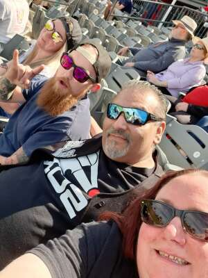 Ro attended Chicago Dogs vs. Sioux City Explorers - American Association of Independent Professional Baseball on May 30th 2021 via VetTix