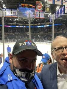 Tom attended New York Islanders vs. Pittsburgh Penguins - NHL Playoffs! Game 4 ** Single Seats Only ** Please Read Notes ** on May 22nd 2021 via VetTix