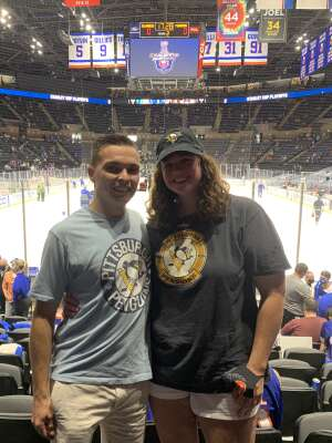 Rist attended New York Islanders vs. Pittsburgh Penguins - NHL Playoffs! Game 4 ** Single Seats Only ** Please Read Notes ** on May 22nd 2021 via VetTix