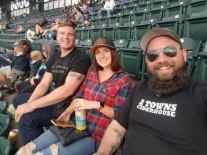 Shayne attended Colorado Rockies vs. Texas Rangers - MLB on Jun 1st 2021 via VetTix
