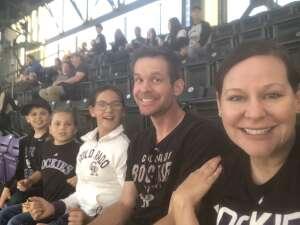 Maggie M. attended Colorado Rockies vs. Texas Rangers - MLB on Jun 1st 2021 via VetTix