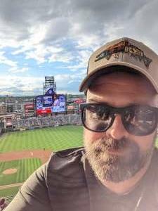 Freeman attended Colorado Rockies vs. Texas Rangers - MLB on Jun 1st 2021 via VetTix