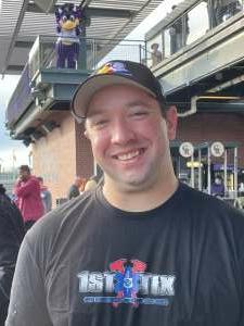 Josh K. attended Colorado Rockies vs. Texas Rangers - MLB on Jun 1st 2021 via VetTix