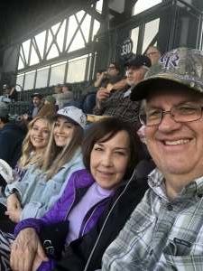 Andrew attended Colorado Rockies vs. Texas Rangers - MLB on Jun 1st 2021 via VetTix