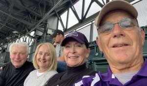 Guy A Giancarlo attended Colorado Rockies vs. Texas Rangers - MLB on Jun 1st 2021 via VetTix