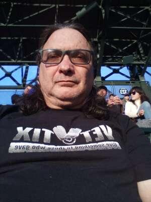 Kenneth E Salinas attended Colorado Rockies vs. Texas Rangers - MLB on Jun 1st 2021 via VetTix