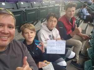Bryan attended Colorado Rockies vs. Texas Rangers - MLB on Jun 1st 2021 via VetTix