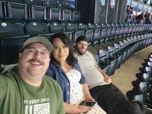 Geoff attended Colorado Rockies vs. Texas Rangers - MLB on Jun 1st 2021 via VetTix