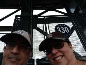 Rockies Fan attended Colorado Rockies vs. Texas Rangers - MLB on Jun 1st 2021 via VetTix