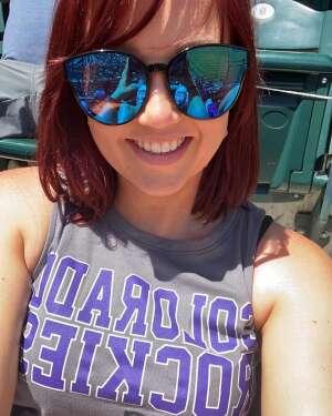 Kelly attended Colorado Rockies vs. Texas Rangers - MLB on Jun 1st 2021 via VetTix