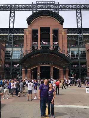 Billy attended Colorado Rockies vs. Texas Rangers - MLB on Jun 1st 2021 via VetTix