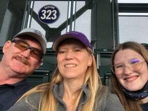 Wm Casey attended Colorado Rockies vs. Texas Rangers - MLB on Jun 1st 2021 via VetTix