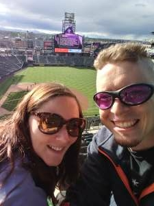 Joel attended Colorado Rockies vs. Texas Rangers - MLB on Jun 1st 2021 via VetTix