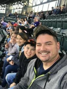 Daniel  attended Colorado Rockies vs. Texas Rangers - MLB on Jun 1st 2021 via VetTix