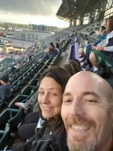 Wes Miller attended Colorado Rockies vs. Texas Rangers - MLB on Jun 1st 2021 via VetTix